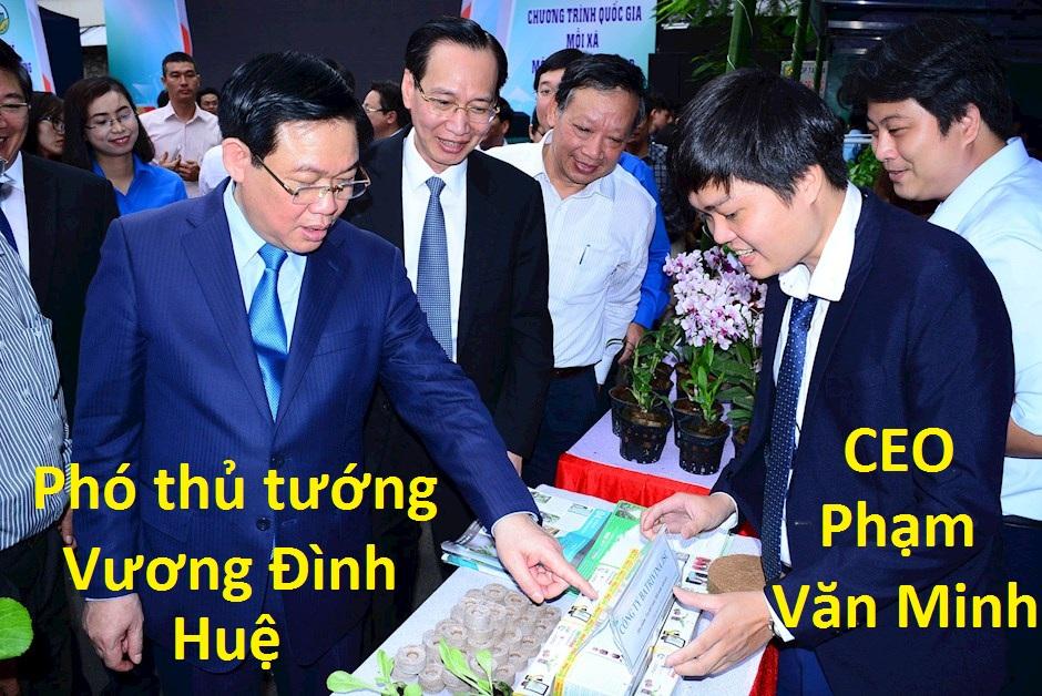 ceo Phạm Văn Minh vinh dự được gặp phó thủ tướng Vương đình Huệ