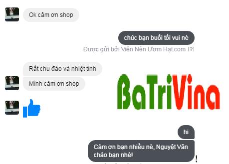 cảm nhận khách hàng về viên nén ươm hạt batrivina